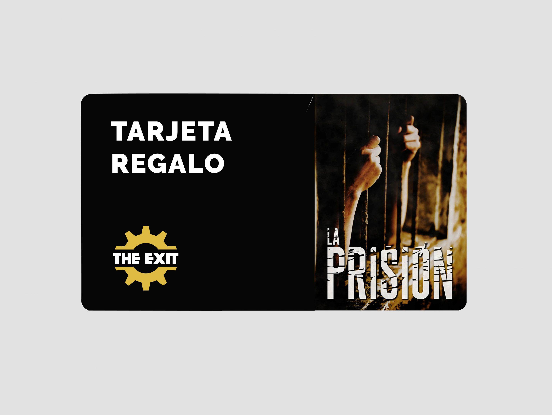La prision tarjeta regalo