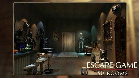 captura juego móvil escape room 50rooms