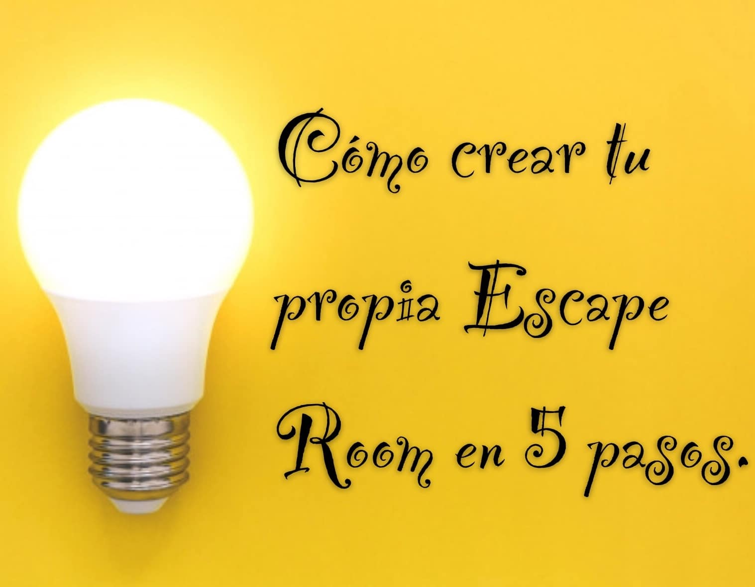 como crear escape room