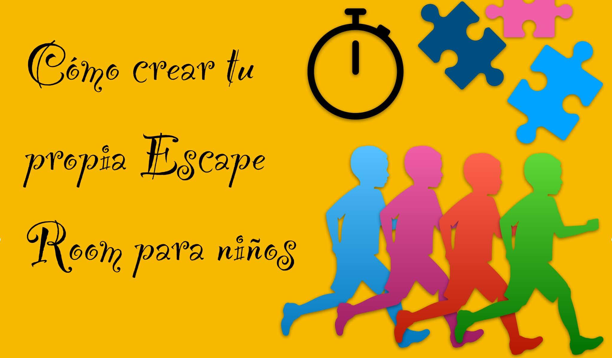 crear escape room niños
